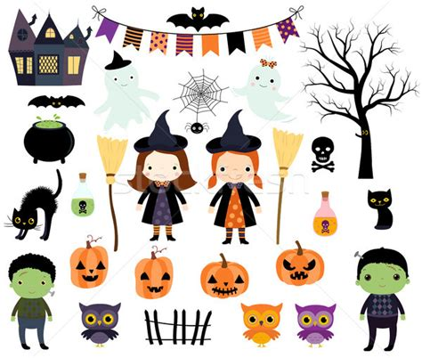 cute animals in boats kids design elements set stock cute halloween vector set with kids in costumes animals
