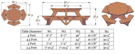 picnic table woodworking plans 8 foot picnic table plans fort hunt park site