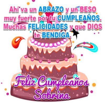 imagenes bonitas de feliz cumpleaños sobrina bonitas imagenes de cumplea 241 os sobrina para facebook