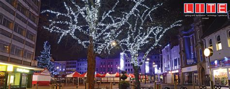 100 christmas trees burnley santa u0027s magical