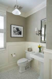 wainscoting ideas bathroom twine how to update a 70 s bathroom