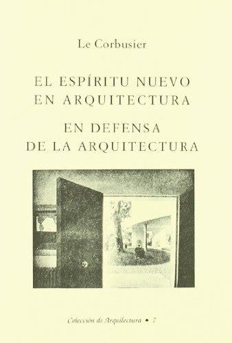 libro el espritu del ltimo leer libro espiritu nuevo en arquitectura el descargar libroslandia