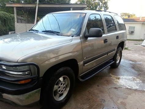 how to sell used cars 2003 chevrolet tahoe seat position control find used 2003 chevy tahoe in houston texas united states for us 5 300 00