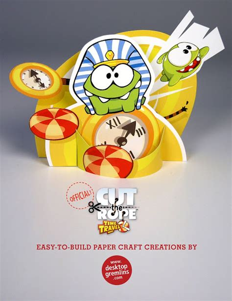Cut The Rope Papercraft - quot cut the rope quot and quot pudding monsters quot interesting paper