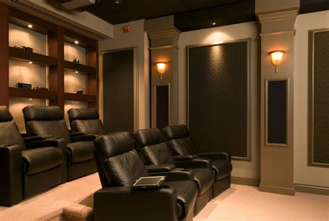 home  theaters contemporary home theater