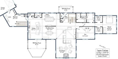 post and beam floor plans post and beam single story floor plans