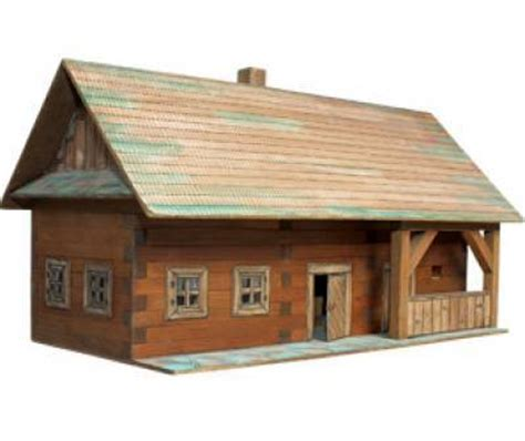 como hacer maquetas de madera walachia maquetas construcci 211 n madera 1303 kit escuela