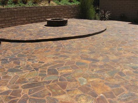 flagstone patio pavers flagstone pavers patio gardener paving water fall and