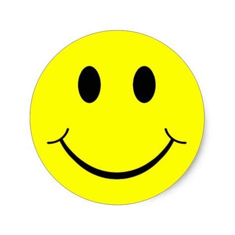 Sticker Smileys by Happy Smiley Classic Sticker Zazzle