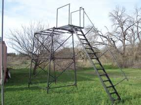 Deer Stand Stairs by Products Amp Services Rwmcountry