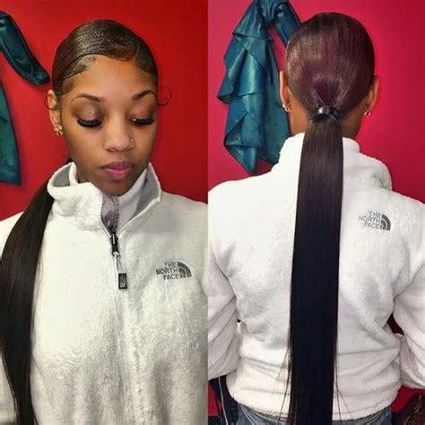 slick back weave hairstyles slick back weave hairstyles 30 classy black ponytail