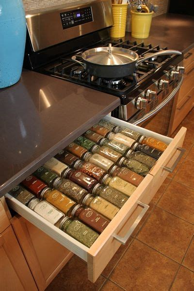 the 25 best ideas about spice drawer on