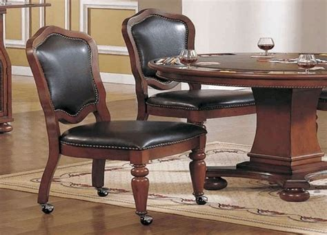 Swivel Dining Room Chairs With Casters Swivel Dining Chairs With Casters Chairs With Casters Dining Circle