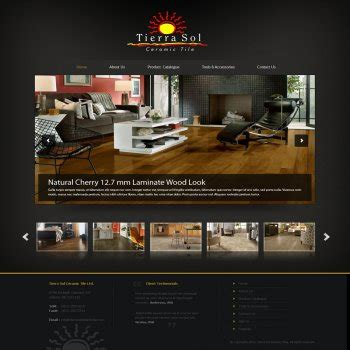 home designer pro website web page design contests 187 tierra sol ceramic tile web