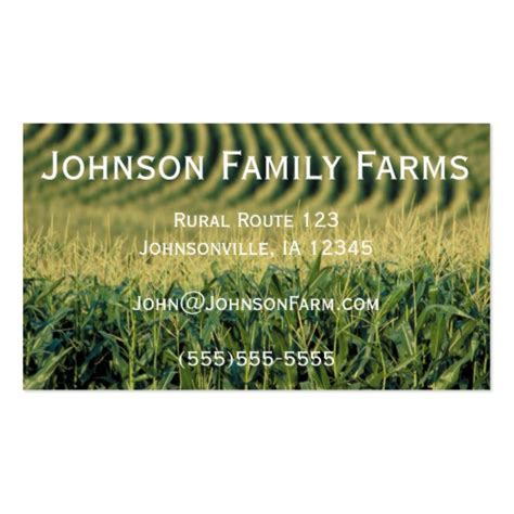 farmers business card templates 10 000 farm business cards and farm business card