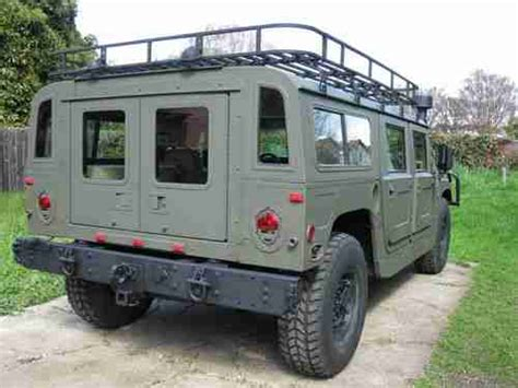 auto body repair training 1995 hummer h1 engine control buy used 1995 hummer h1 wagon 6 5l diesel flat green paint color many extras in hayward