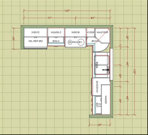kitchen floor plans exles diy kitchen cupboards pthyd