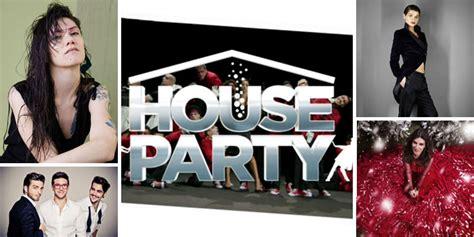 house music for parties house party maria de filippi unisce in una grande festa musica cinema e tv ospiti