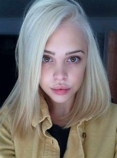 hairstyles blonde tumblr girl with platinum blond hair tumblr