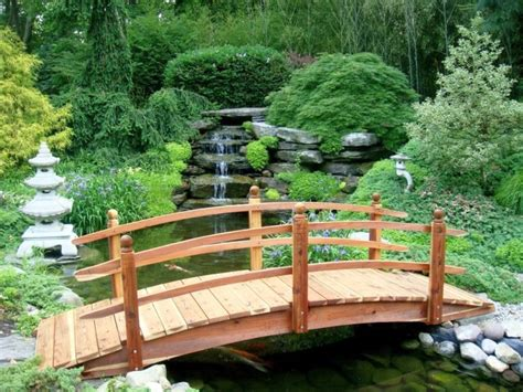 Simple Japanese Garden Ideas Japanese Garden Bridge Plans With Simple Railing