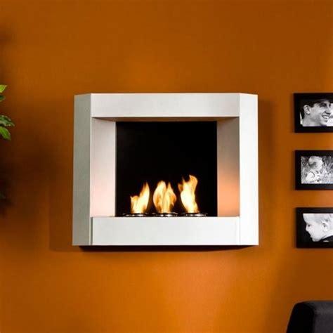 Wall Fireplaces Gel Fuel by Southern Enterprises Jolee Silver Wall Mount Gel Fuel