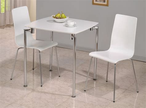White Gloss Dining Table Small White High Gloss Dining Table And 2 Chairs Homegenies