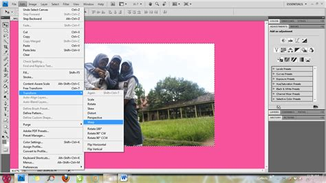 cara membuat garis di photoshop cs 4 tutorial photoshop cara membuat efek fisheye di photoshop