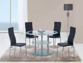 contemporary dining room set contrasting black or white contemporary dining room set