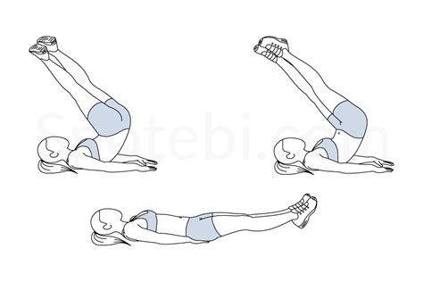 crunch twist illustrated exercise guide