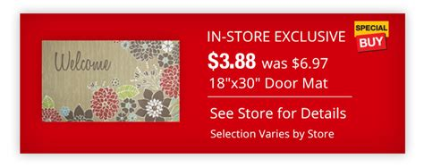 home depot daily deal 3 88 door mats