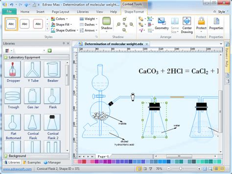 scientific drawing software chemistry laboratory equipment drawing software free
