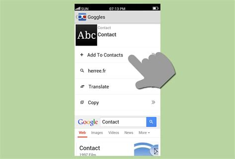 Add Business Card To Contacts Iphone