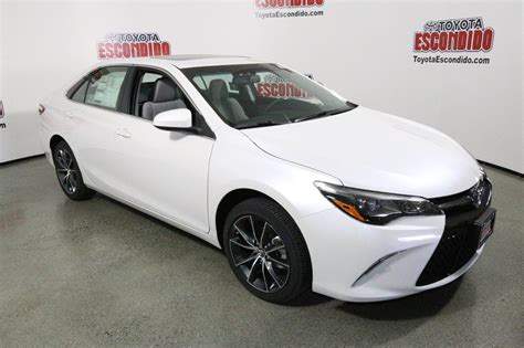 Toyota Camry Xse V6 New 2017 Toyota Camry Xse V6 4dr Car In Escondido 1014089