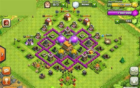 clash of clans town hall 45 6 base layouts youtube clash of clans town hall 6 warbase clash of clans hacks