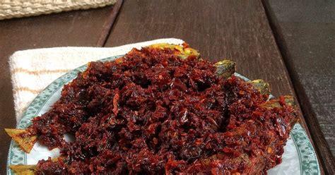 Cobek Batu Mini U Tempat Sambal mori s kitchen ikan kembung masak sambal kering