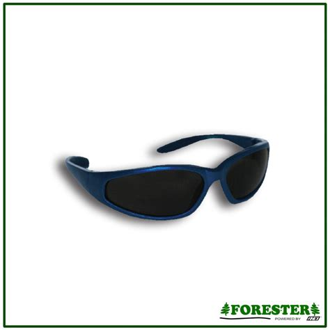 forester colored frame safety glasses smoke lens