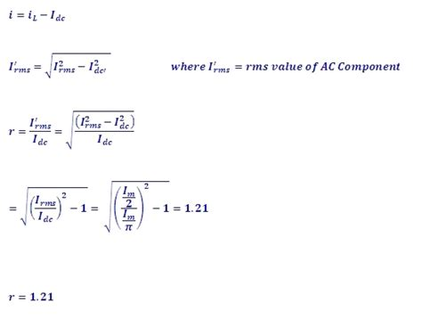 diode bridge rectifier formula engineering physics tutorials rectifier circuit rectifier theory half wave rectifier