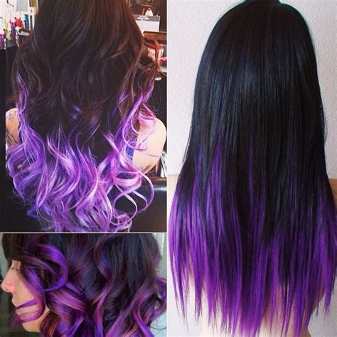 purple black hair color how to go from hair to pastel color in one set of