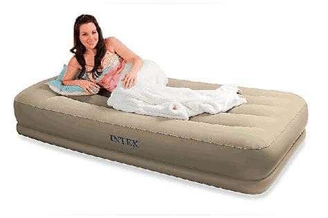 pillow rest mid rise airbed kit intex 67748 2 bed mattress sale