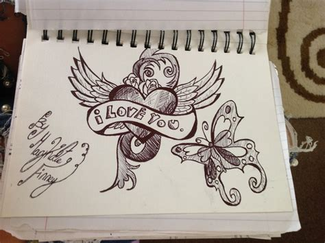 i love you tattoos designs i you doodle design by mkdoll on deviantart