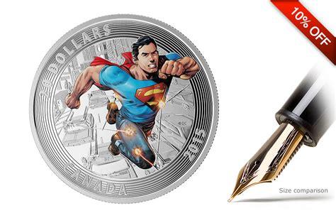 Kaos Black Silver Superman 1 buy silver superman coins comics 1 silver coins kitco
