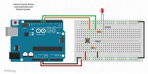 arduino pushbutton resistors how to use a push button codebender s