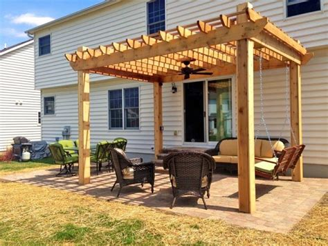 pergola porch swing the 25 best pergola swing ideas on pinterest patio