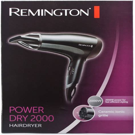 Energy Conversion Of A Hair Dryer remington d3010 power 2000 dryer