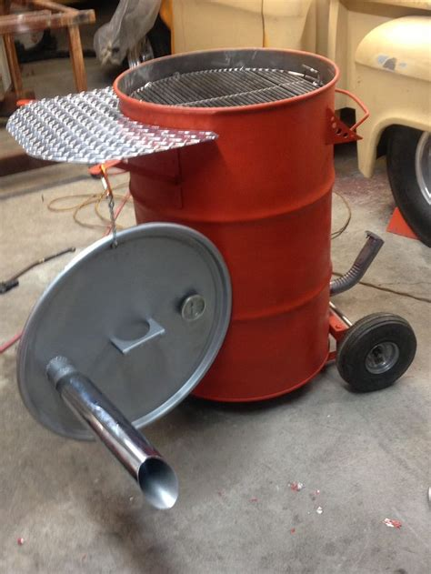 building pit drum 25 b 228 sta id 233 erna om drum smoker p 229