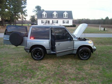 Tracker Jeep 1994 Geo Tracker 4x4 Automatic Sidekick Jeep 82k