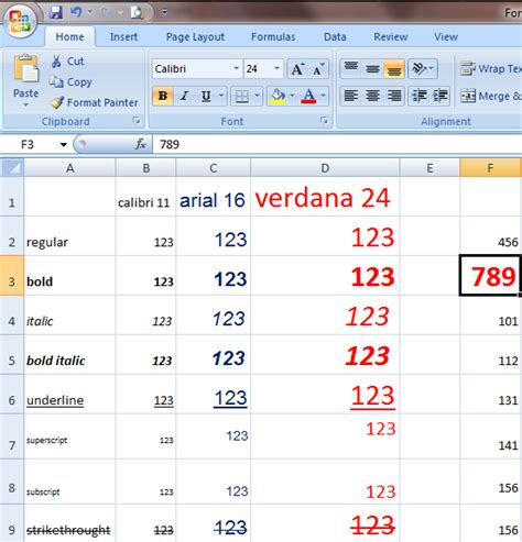 format painter in excel 2007 format cells