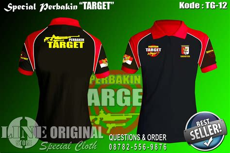 Special Kaos Perbakin baju perbakin target o linestore