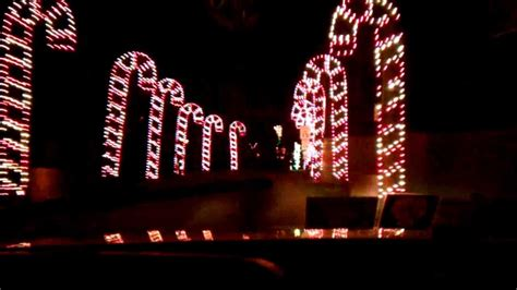west virginia holiday of lights youtube