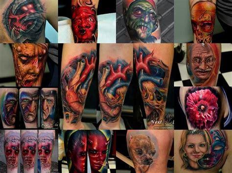 tattoo expo timisoara costitattoo skull heart gandhi the scrooge horror tattoo